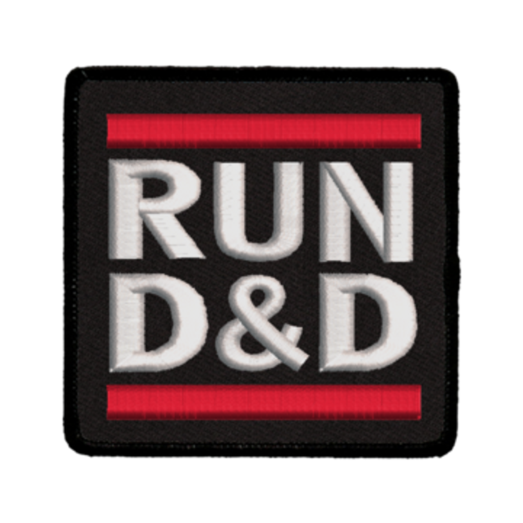 Iron-On Patch - Run D&D