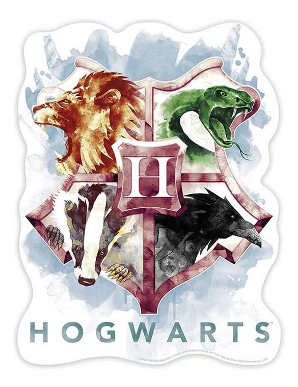 25 Pc Harry Potter Hogwarts Crest Mini