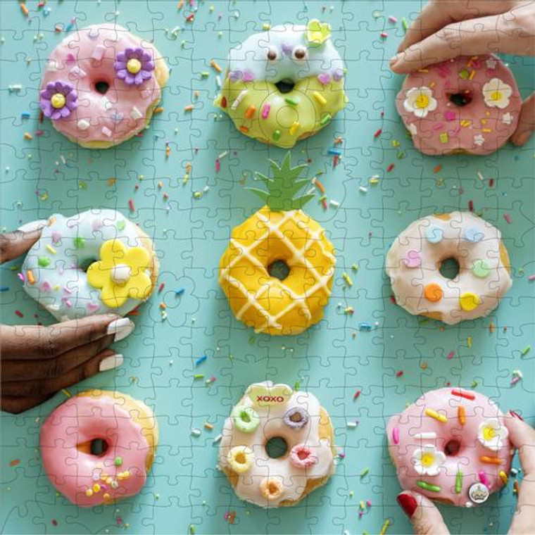 250 Pc Wooden Nine Donuts by I Go To
