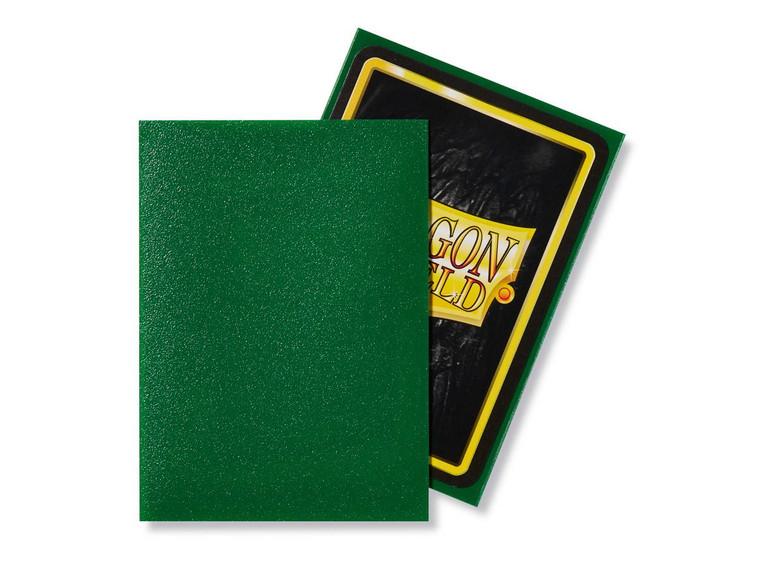 Dragon Shield Matte 100ct Emerald