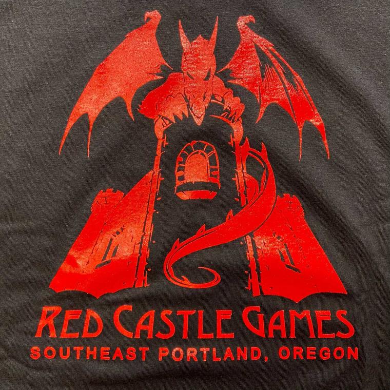 RCG Dragon Youth T-Shirt Black w/ Red