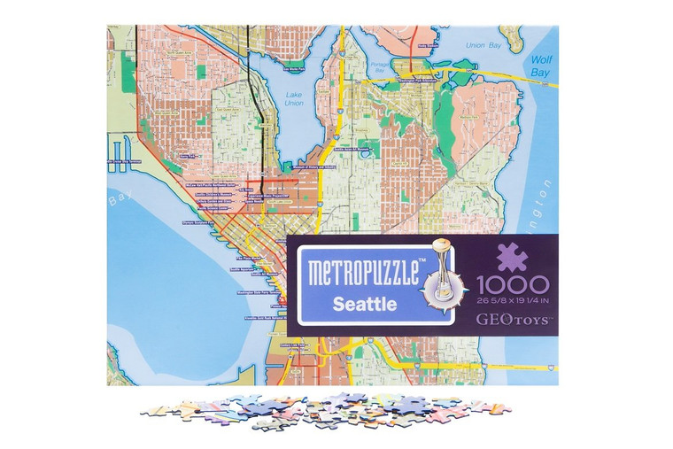 1000 Pc Seattle MetroPuzzle