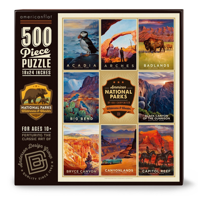 500 Pc National Parks