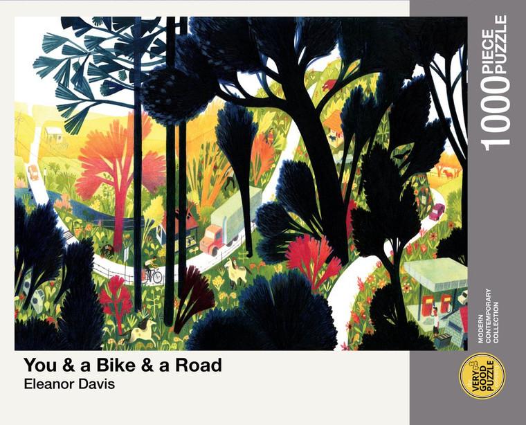 1000 Pc Davis, Eleanor: You & a Bike & a Road