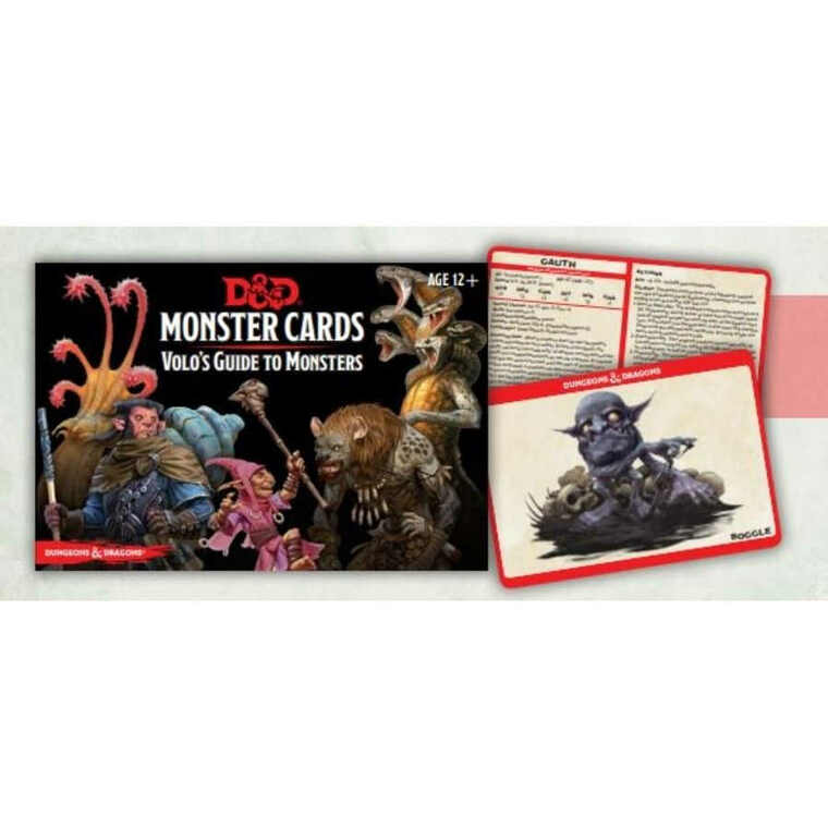 D&D 5E Monster Cards Volo's Guide to Monsters