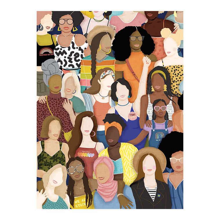 1000 Pc Together We Can - Women Collective