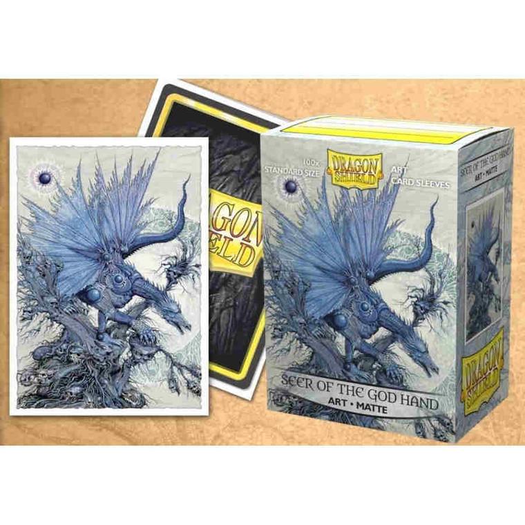 Dragon Shield Art Matte 100ct Seer of the God Hand