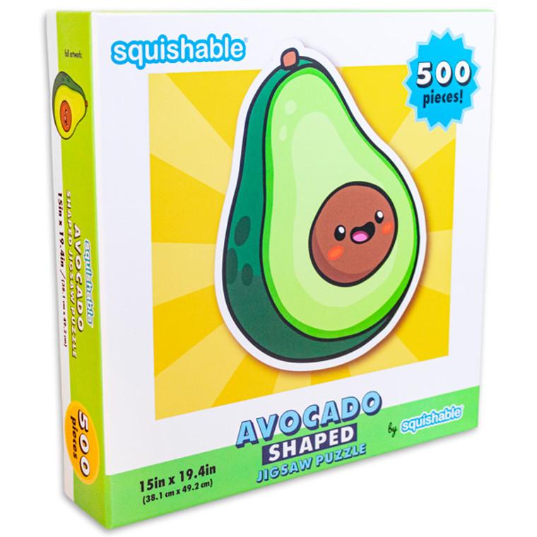 500 Pc Avocado (Shaped)