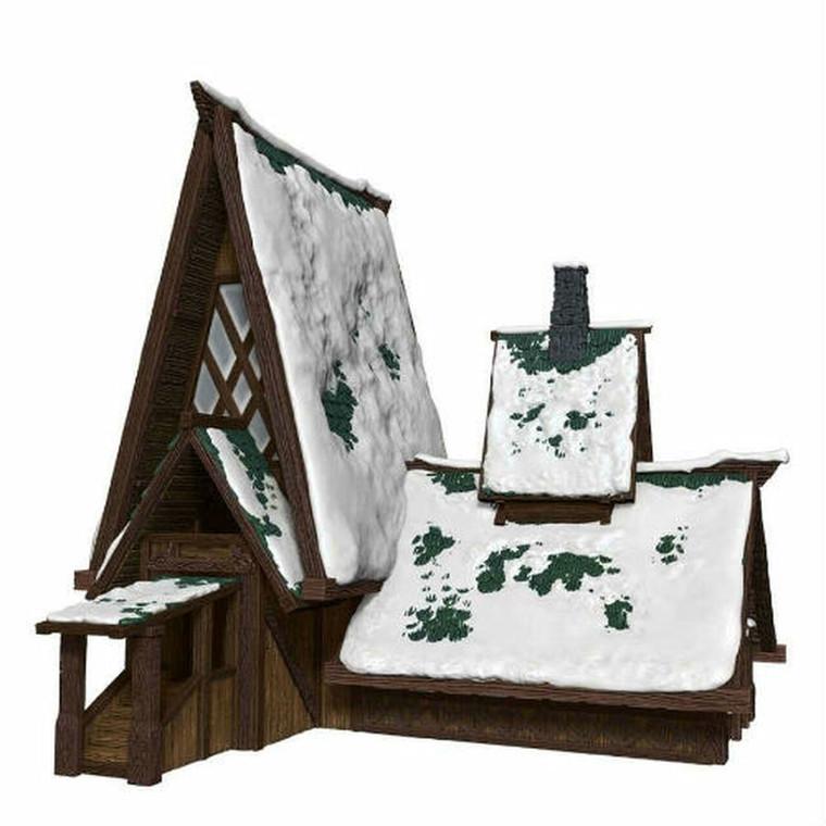 IOTR Icewind Dale The Lodge Papercraft Set