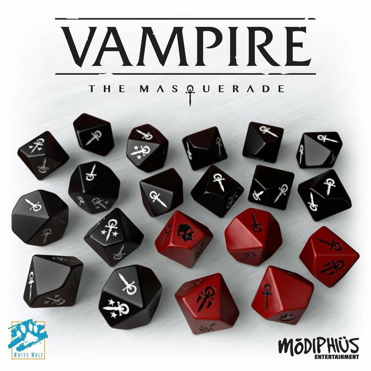 Vampire the Masquerade 5th Ed Dice Set