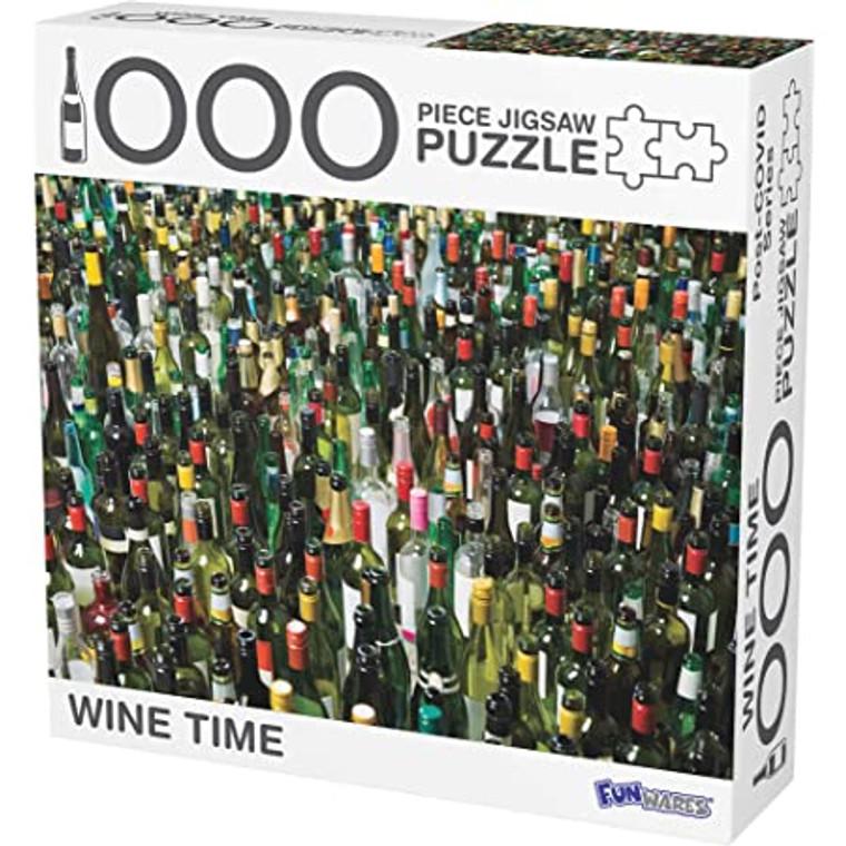 1000 Pc Wine Time