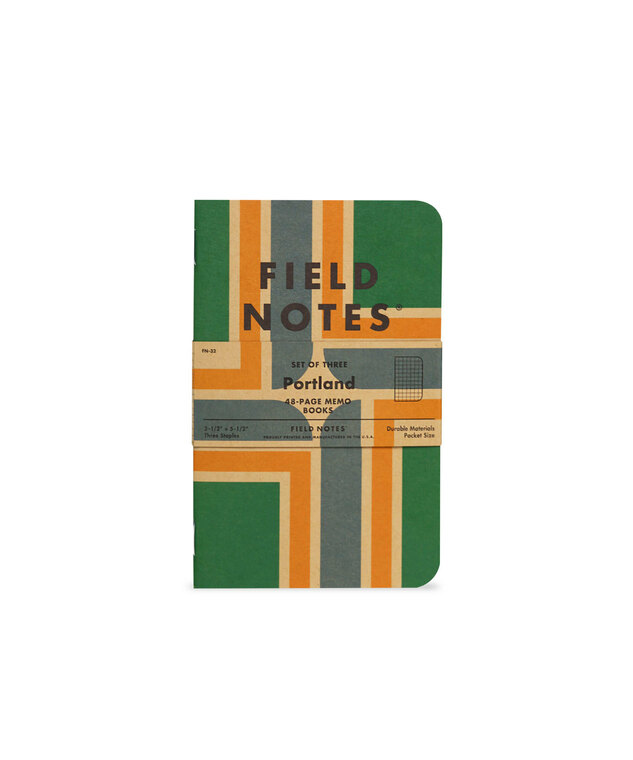 Portland Memo Books 3-Pack Field Notes