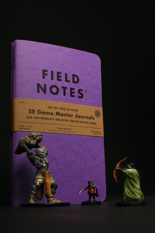 5E Game Master Journals 2-Pack Field Notes