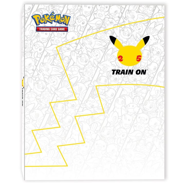 1P 30ct Oversize Binder PKMN Pikachu 25th Anniversary w/ Oversized Pikachu