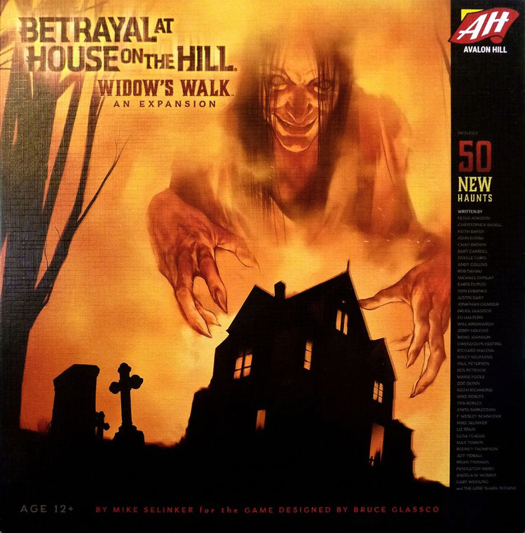 Rental: Betrayal at House on the Hill Widow's Walk Expansion