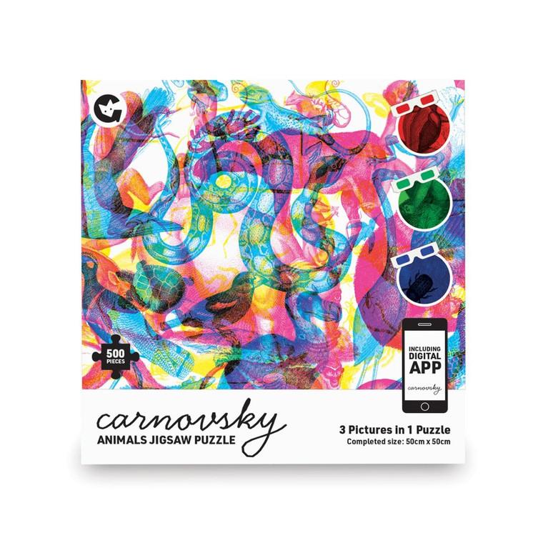 500 Pc Carnovsky Animals