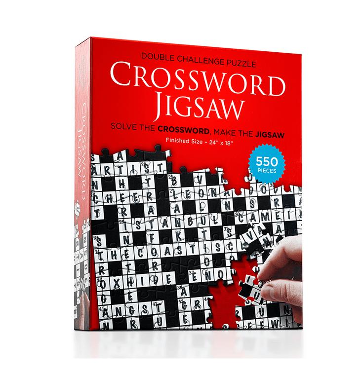 550 Pc Crossword Jigsaw V1