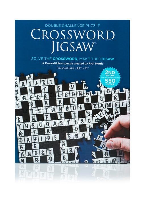 550 Pc Crossword Jigsaw V2