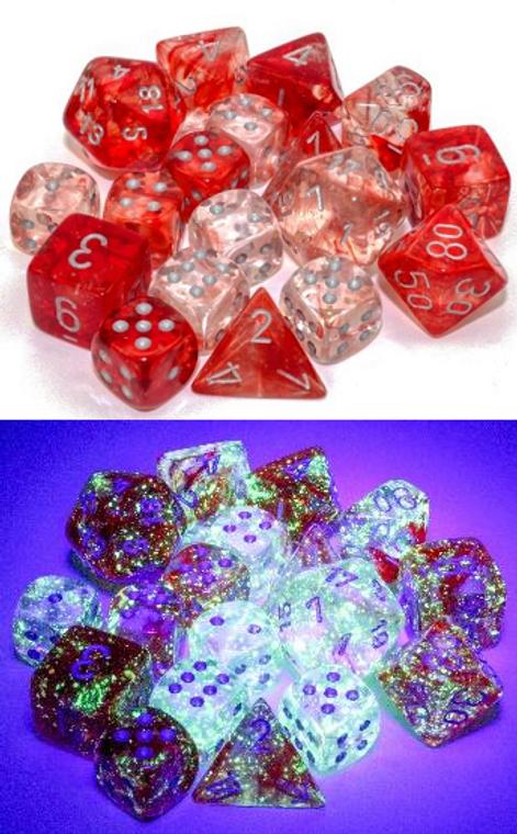 CHX D6 12mm 36 Nebula Red w/ Silver 27954
