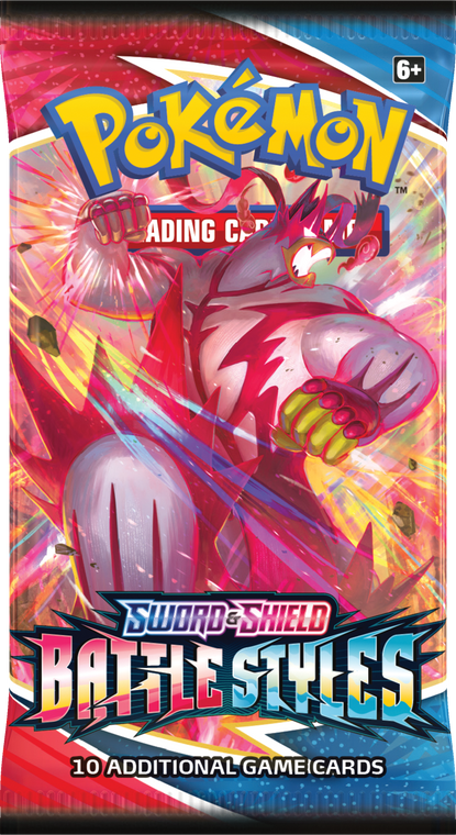 Sword and Shield Battle Styles Booster Pack
