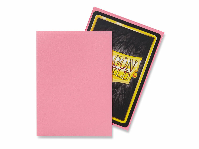 Dragon Shield Matte 100ct Pink