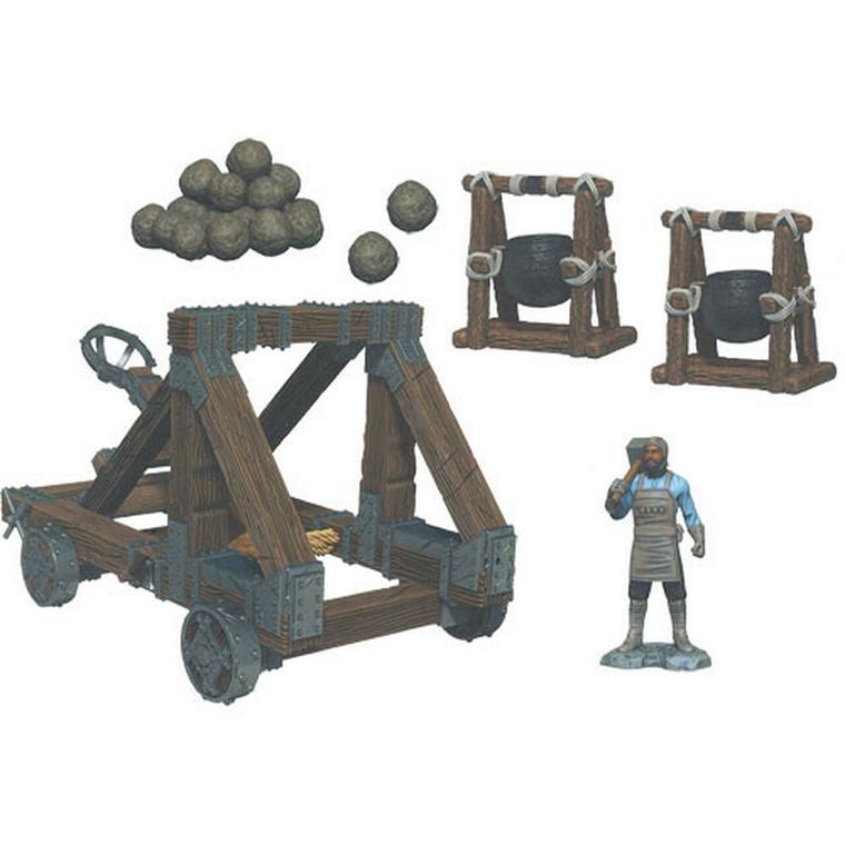 Painted 4D War Machines Catapult