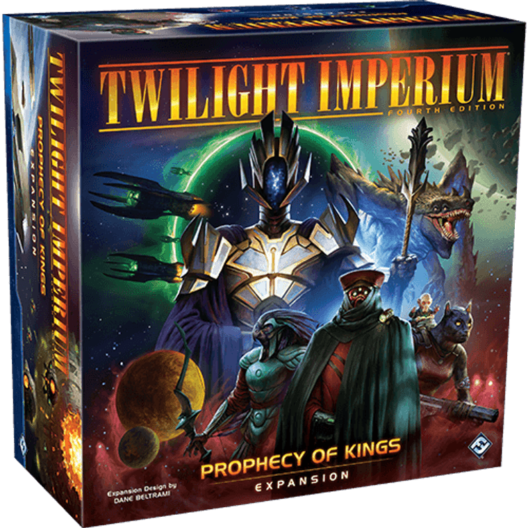 Twilight Imperium 4th Ed Prophecy of Kings Expansion