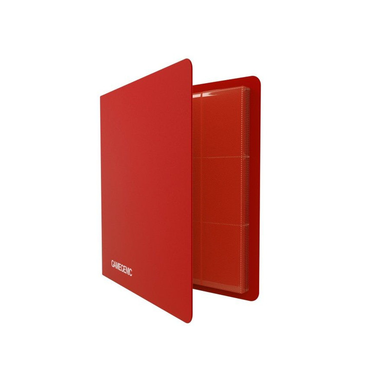 12P 480ct Casual Album Binder Red