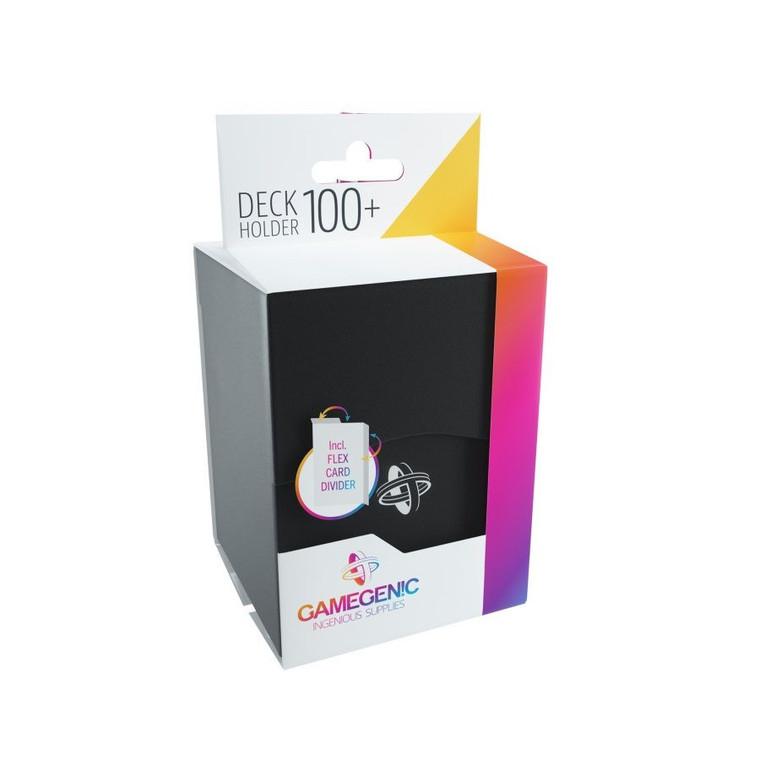 Deck Holder 100+ Deck Box Black Gamegenic