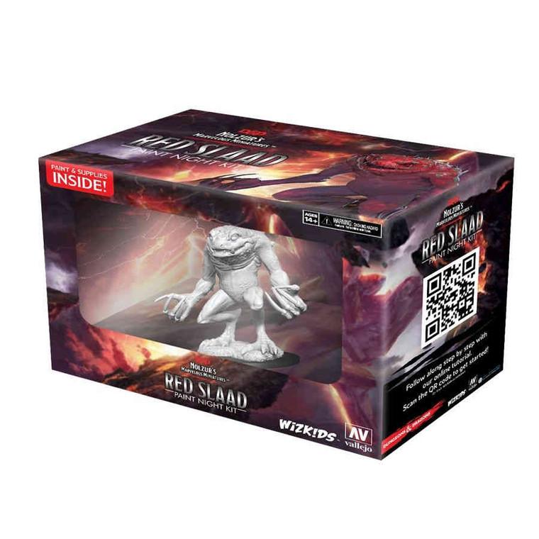 Unpainted NPC Red Slaad Paint Night Kit 90292