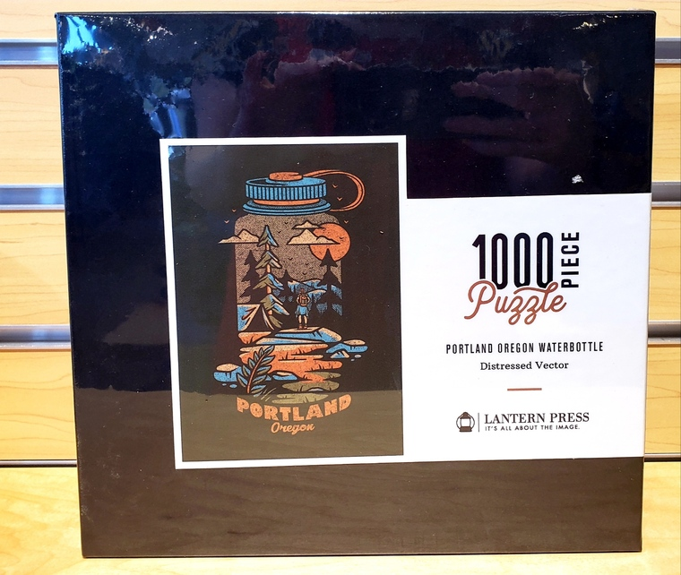 1000 Pc Portland, Oregon - Waterbottle