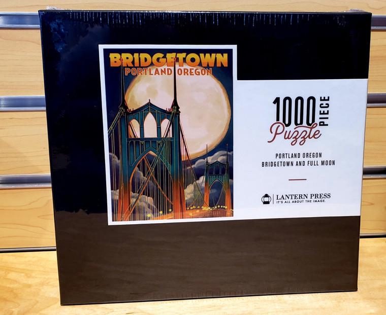 1000 Pc Portland, Oregon - Bridgetown Full Moon