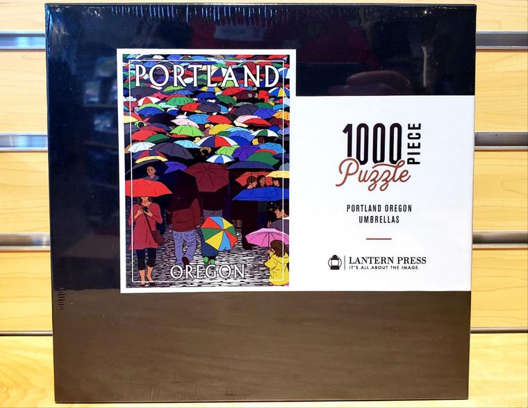 1000 Pc Portland, Oregon - Umbrellas