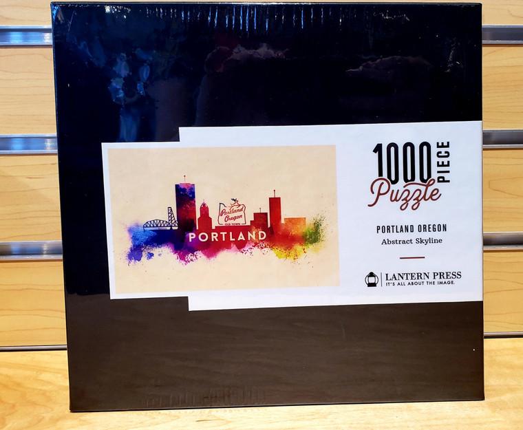 1000 Pc Portland, Oregon - Skyline Abstract