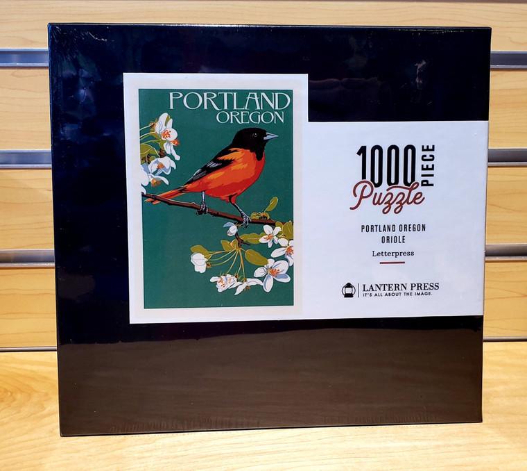 1000 Pc Portland, Oregon - Oriole Letterpress
