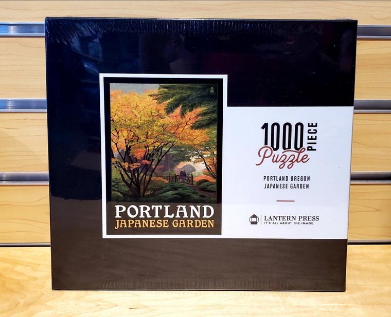 1000 Pc Portland, Oregon - Japanese Garden Bridge