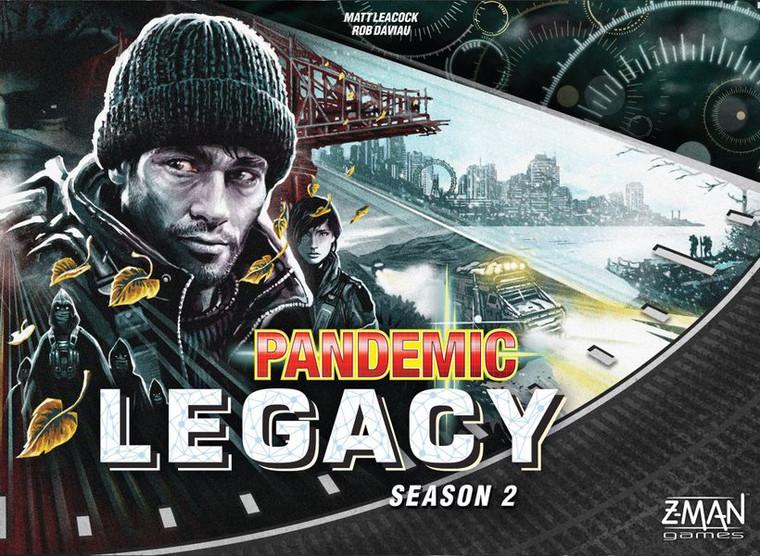 Pandemic Legacy Season 2 Black