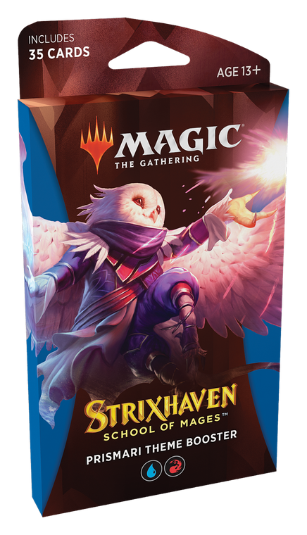 Strixhaven Theme Booster Pack Prismari (Blue/Red)
