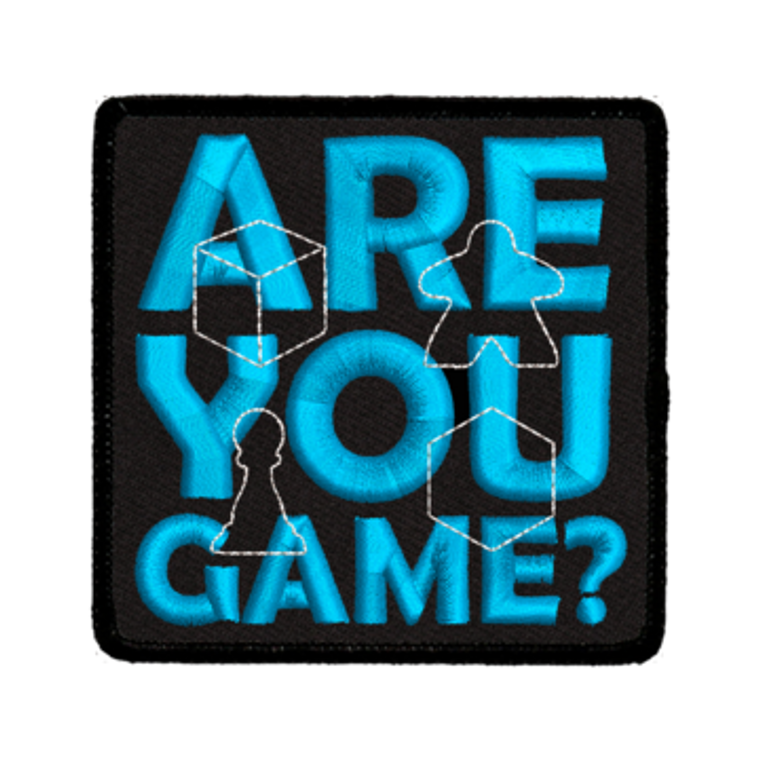 Iron-On Patch - Are You Game?