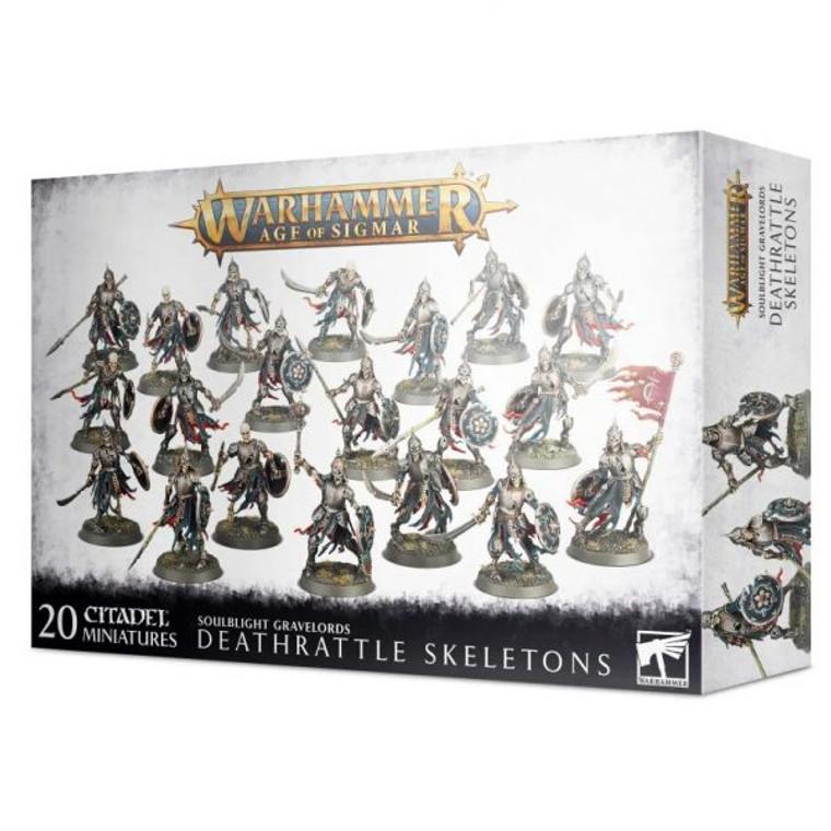 Soulblight Gravelords Deathrattle Skeletons
