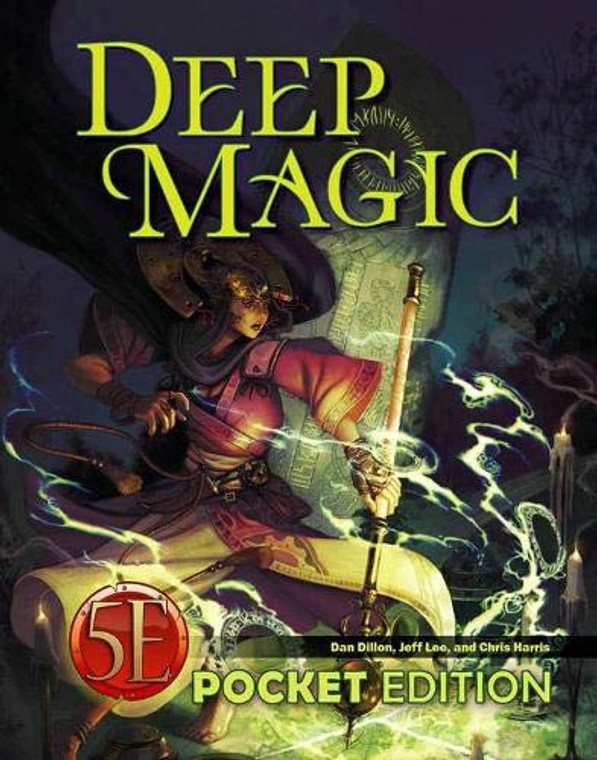 5E Kobold Deep Magic Pocket Edition