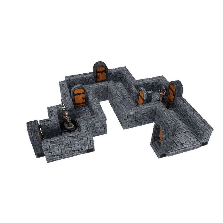"WarLock Tiles Dungeon 1"" Straight Walls"