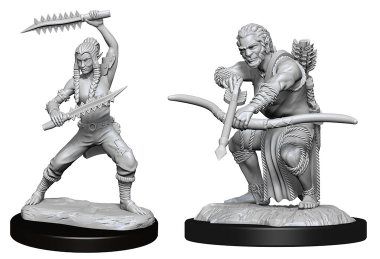 Unpainted PC Shifter Wildhunt Ranger Male NM 90238