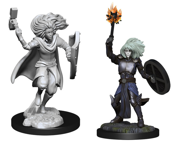 Unpainted PC Changeling Cleric Female NM 90237