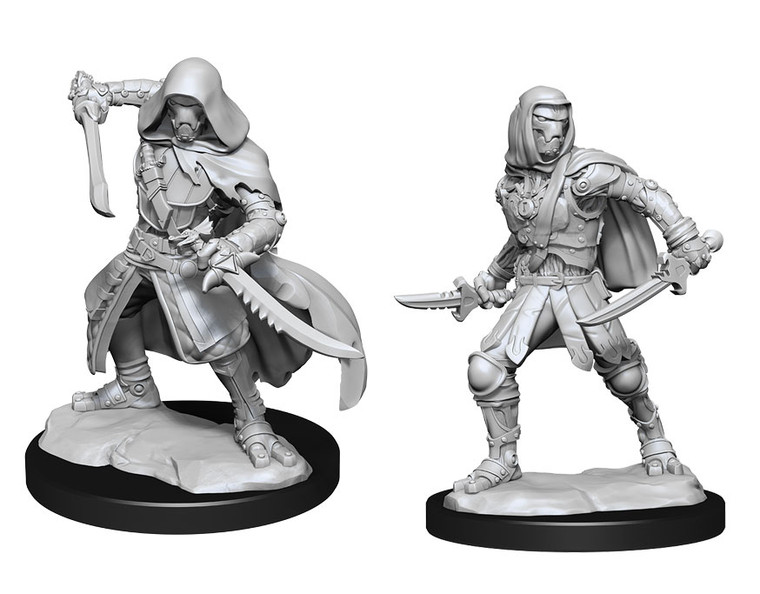 Unpainted PC Warforged Rogue NM 90236