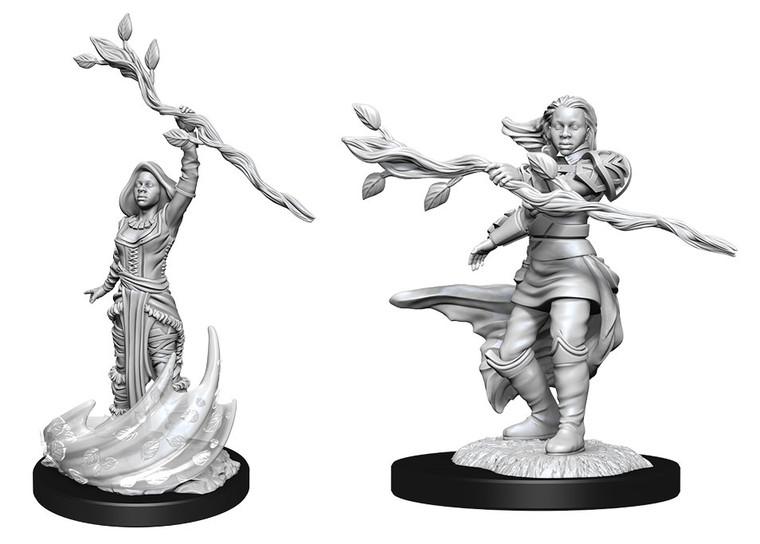 Unpainted PC Human Druid Female NM 90223