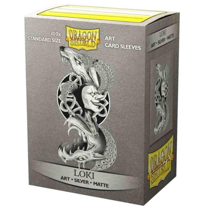 Dragon Shield Art Matte Sleeves Loki