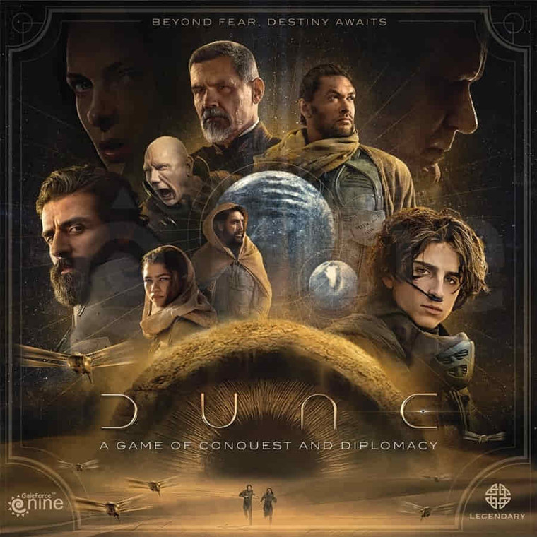 *Pre-Order* Dune: A Game of Conquest and Diplomacy