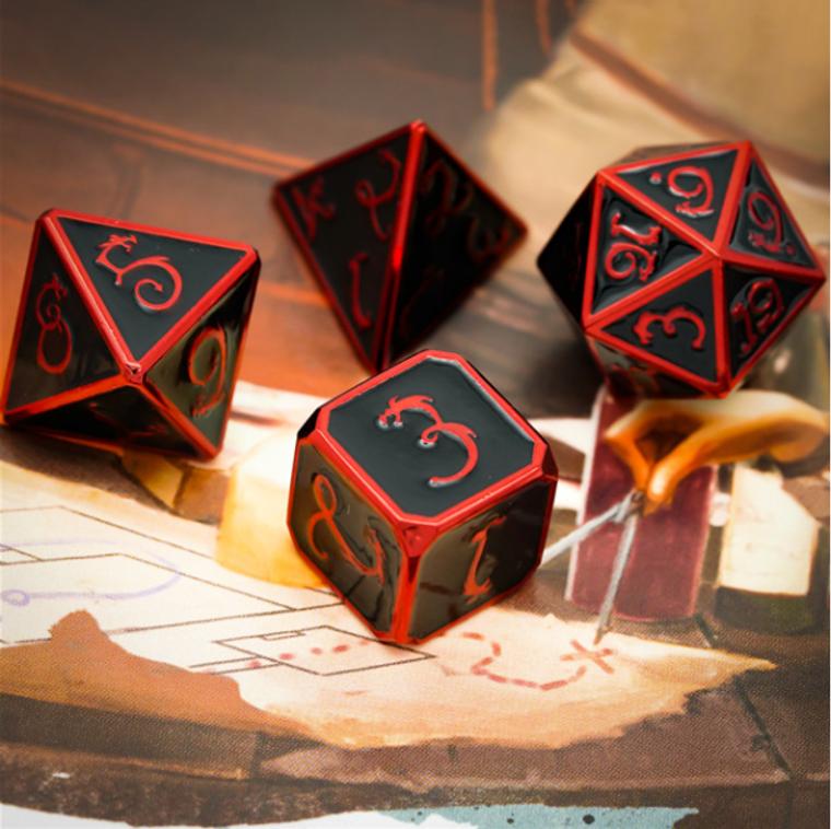 Udixi Poly Dragon Metal Red & Black