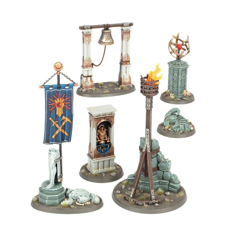 Warhammer Age of Sigmar Realmscape Objective Set